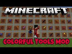 Colorful Tools Mod for Minecraft 1.8/1.7.10 -  Have you desired to make your Minecraft world more colorful? Clearly, it must be helpful for making color-coded groups of players in multiplayer maps, and with a single player, you also have a chance to stand out and be different from others. The Colorful Tools mod gives you the tools to dye and... #Minecraft1710Mods, #MINECRAFT18MODS -  #MinecraftMods