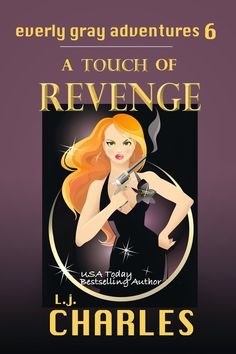 A Girl and Her Kindle: a Touch of Revenge by L.j. Charles Review
