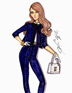 haydenwilliamsillustrations:    'Dressed For Success' by Hayden Williams