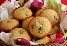 Almond Amaretto Cherry Muffins
