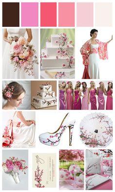 Cherry blossom wedding inspiration | designcatweddingphotography.com