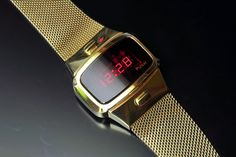 Pulsar P4 Dress (Gold-Filled) Watch Room, Led Watch, Gold Dress, Vintage Watches, Digital Watch, Old And New, Childhood Memories, Clocks, Airplane