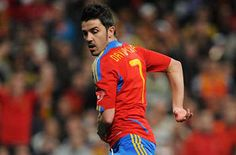 and he's number 7 too(: David Villa, Good People, Amazing People, Euro 2012, Football Love, Sports Fanatics, Number 7, Lionel Messi, Good Looking Men