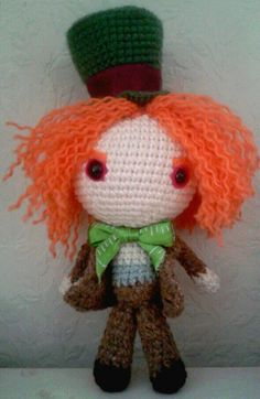 Crochet mad hatter... tim burton inspired!