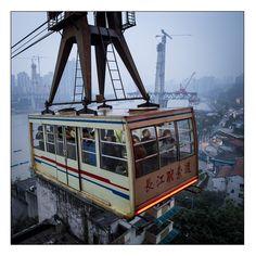 Crossing River Yangzi - Chongqing, Chongqing, China
