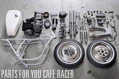 Cafe Racer parts and accessories ~ Return of the Cafe Racers