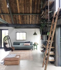 Another shot from yesterdays shoot in the old barn from @annemarie.kol They made a warm and industrial design with a loft feeling, an unique mix! - #interiordesign #binnenkijken #industrialstyle #industrialinterior #oldbarn #oldfarm #interior #interiör #interiør #instahome #wooninspiratie #interior123 #interior4all #interiorstyling