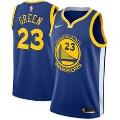 Nike Warriors  23 Draymond Green Blue NBA Swingman Jersey Golden State  Warriors 2018 c2e730dd9