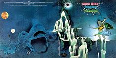 Album Cover Art - Uriah Heep - Demons and Wizards -  Front Cover