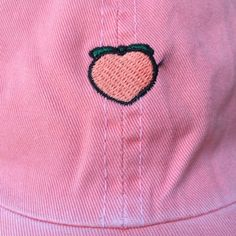 Hat: peach, pink, tumblr, pale, grunge, 90s style, baseball hat ...