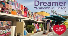 We spoke with Stephen Duneier, the Yarn Bomber, about his recent Dreamer Yarnbomb in Tucson, AZ. He put yarn-covered aliens on ...