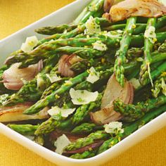 Becel® Oven-Roasted Asparagus with Parmesan Gremolata Recipe