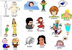 Polish Vocabulary for Describing People