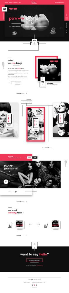Wmwi digital agency website design ux ui design dribbble full 2 Ecommerce Web Design, Web Ui Design, Page Design, Theme Forest, Site Inspiration, Site Vitrine, Web Design Projects, User Experience Design, Ui Web