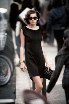 Ines de la Fressange daughter Nine Parisian Chic style | British Vogue
