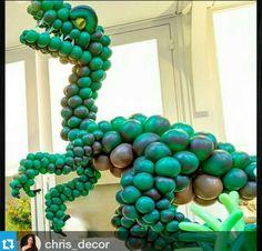 Balões Dinossauros