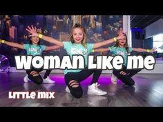 Woman like me - Little Mix - Easy Kids Dance Video - Choreography Music Mix, Easy Cheers, Cheer Dance Routines, Dance Jumps, Easy Dance, Dance Teacher, Hip Hop Dance, Ballroom Dancing, Christians