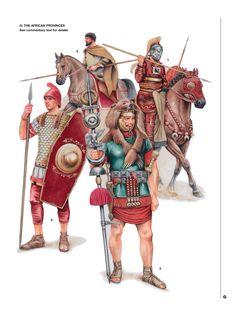 Римская армия в провинции Африка