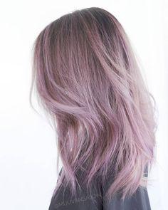 Pale violet  @mijuvansalon @fanola =^^= . . . #losangelessalon #losangeleshair #mauvehair #violethair #mijuvansalon #fanola #asianhair…