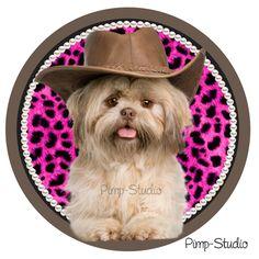 Strijkapplicatie Cowboy Billy | Hippe Meiden | Pimp-it-Shop