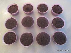 CUPCAKES DE CHOCOLATE- escola de bolos