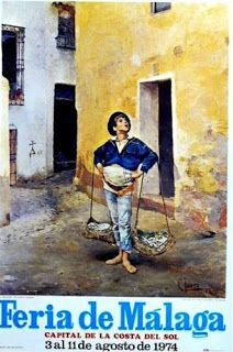 Malaga, Andalucia, Spain, Painting, 1975, Bella, Character Drawing, King, Portrait