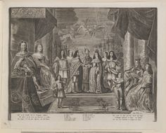 Allard, Hugo : - [Marriage of Charles II and Catherine of Braganza]
