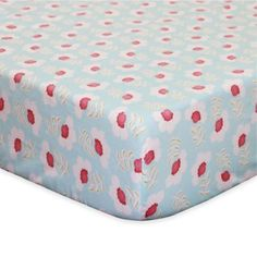 The Peanutshell Mila Fitted Crib Sheet - Bold and bright, the Mila Collection from The PeanutShell will surround your little girl with color and style. The lovely and soft Mila Fitted Crib Sheet in coral and aqua is beautifully crafted in cotton sateen. Baby Crib Bedding, Crib Mattress, Crib Sheets, Baby Cribs, Fitted Sheets, Mini Crib, Bedding Collections, Shell, Decor