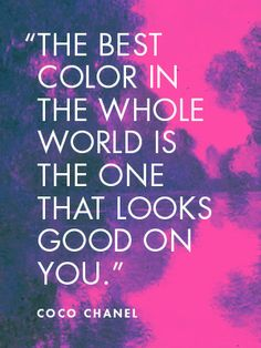 the best color in the whole world