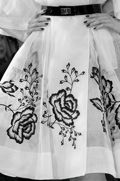 I can make this! Christian Dior Haute Couture SS 2012 details
