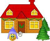 Weihnachten - Smiley - Gif