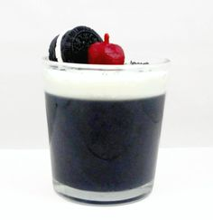 Cookies and Cream Parfait Candle by CandlelitDesserts on Etsy, $14.99