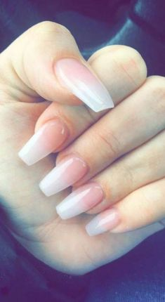 In search for some nail designs and some ideas for your nails? Here's our set of must-try coffin acrylic nails for cool women. Acrylic Nail Shapes, Pink Acrylic Nails, Acrylic Nail Designs, Acrylic Colors, Gel Nagel Design, Nagel Hacks, Graduation Nails, Light Pink Nails, Pink Light