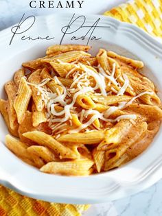 Creamy Penne Pasta - Chase Laughter