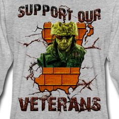 support_our_veterans - Mannen Premium shirt met lange mouwen