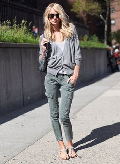 Have cargos, have pockets. It's really that simple. Aces on it all girl.