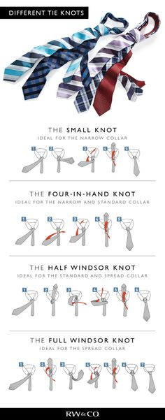 RW&CO. How to tie a tie rw-co.com. Because it happens so infrequently I can never remember how.