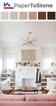 Living room color palette - black dark-amber dark-orange dark-pistachio