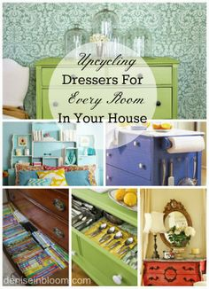 Diy Projects: 10 Ways to Upcycle Derssers For Any Room