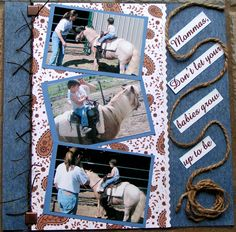Cowboy Page 1 of 2 - Scrapbook.com