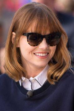 Image result for emma stone eyeglasses 2017
