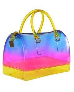 46 40 Blue Fade Pink Clear Handbagslv Handbagsjelly