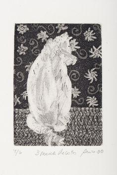Anico Herskovits - Branca - Gravura em metal - 26 x 30 cm
