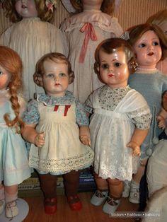 Таинственные незнакомки / Опознание антикварных кукол / Бэйбики. Куклы фото. Одежда для кукол