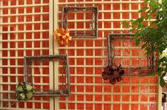 DIY twig frames