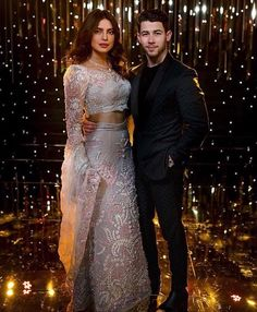 Priyanka Chopra Nick Jonas's Mumbai Wedding Reception saw some of the best dressed Bollywood Celebrities attend the party. Here are my favourite looks. Red Lehenga, Bridal Lehenga, Lehenga Choli, Sabyasachi, Indian Celebrities, Bollywood Celebrities, Bollywood Fashion, Bollywood Saree, Bollywood Actress