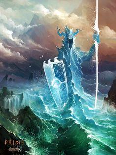 Water element by haryarti on DeviantArt #fantasy