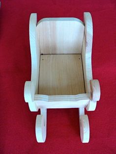 "Unfinished Wooden Christmas Sleigh - 9-3/4"" Long X 4-3/4"" Wide X 5-1/4"" High"