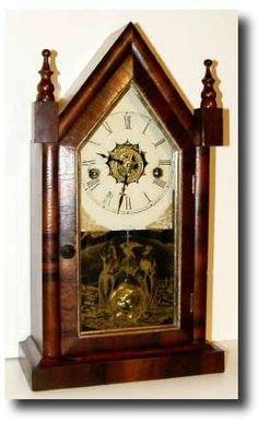 17 Best Images About Jerome Ogee Antique Clocks Vintage