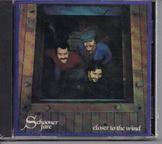 Closer to the Wind by Schooner Fare Folk CD  The traditional songs of the sea continue to be revived through the exuberant, harmony-filled, performances and recordings of Schooner Fare. But, in the more than two decades the Maine-based trio have consistently expanded their musical scope. Their current repertoire reflects a lively mixture of folk songs, pop tunes and original songs